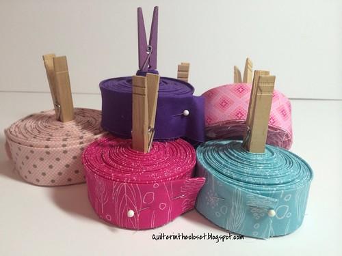 rolls of binding