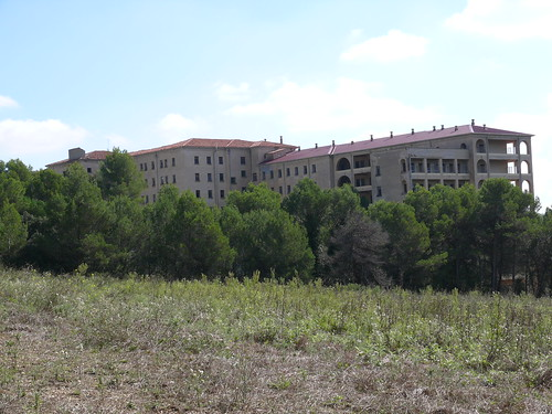 Lugares abandonados antiguo hospital del t rax en terrassa - Fotografos en terrassa ...