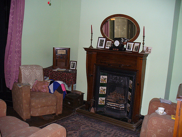 1940 S Living Room Radio Instead Of Television In The Corn Flickr Photo Sharing