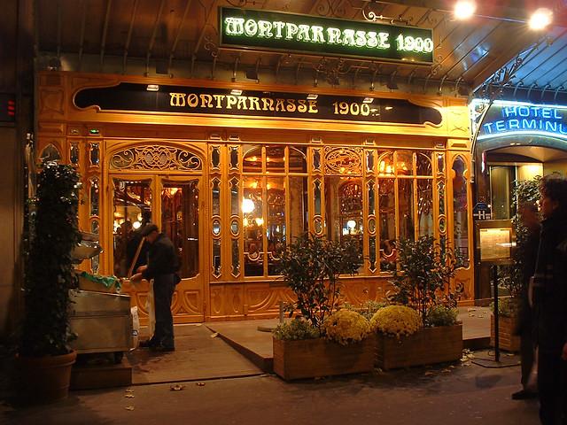 Le Montparnasse 19- Brasserie parisienne historique - Accueil
