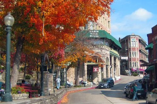 Fall Eureka Street Scene