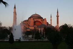 Hagia Sophia im Abendlicht