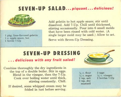 Seven-Up Salad & Dressing