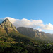 Peaks in Beautiful Evening Light Panorama, Table Mountain National Park, South Africa
