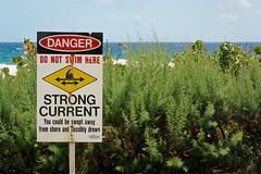 Danger Strong Current