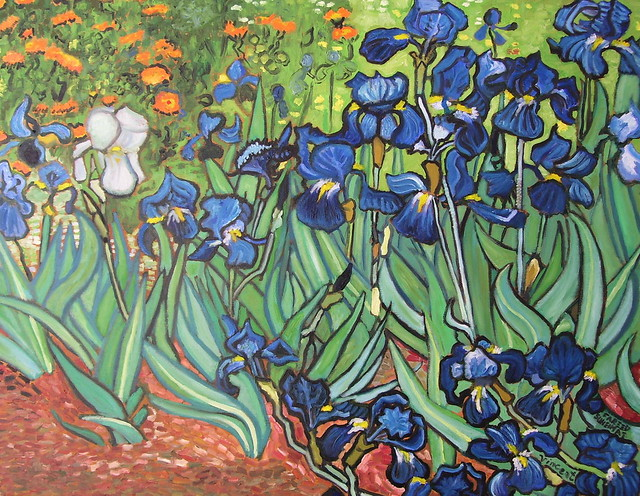 The photo owner has disabled commenting Van Gogh Irises Getty