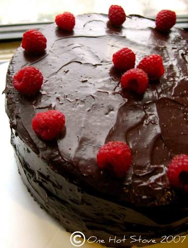 Manisha Birthday Cake Images : One Hot Stove: Chocolate Birthday Cake