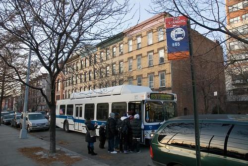 B65 new temporary bus stop