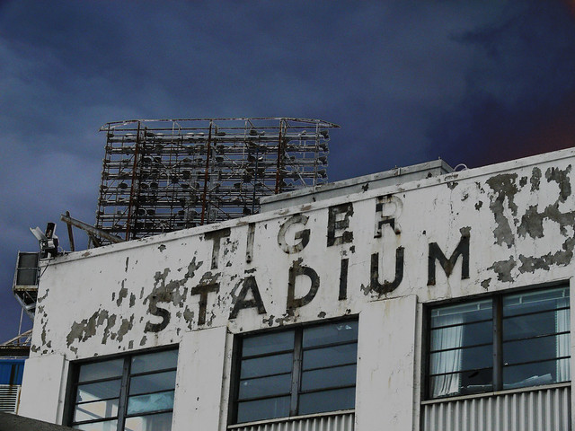 Abandoned Tiger Stadium - Detroit ( ALL RIGHTS RESERVED )