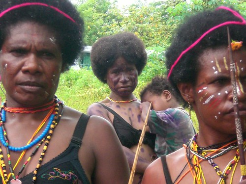 tough women of Papua