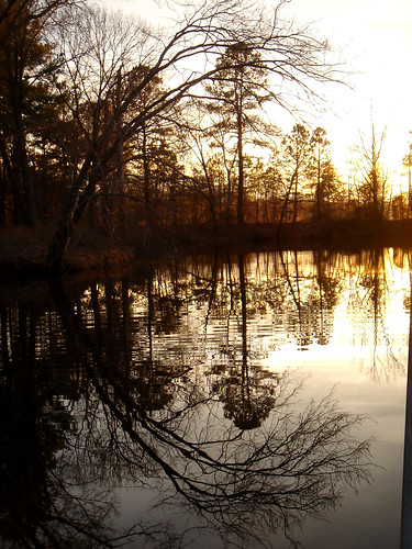 sunset water dutch virginia c gap conservation letter sillouette refection anl