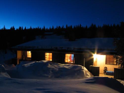 norway norge twilight nightimages bluehour valdres oppland ellingsaeter