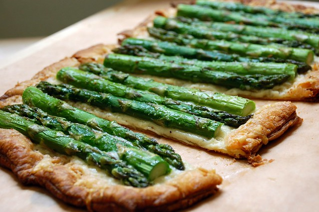 asparagus tart with gruyere cheese | Flickr - Photo Sharing!