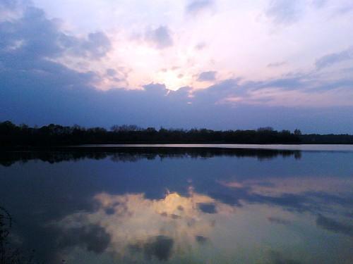 Pink Sky, Orange Water