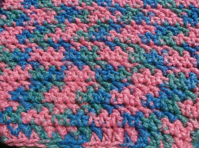Simple Crochet Baby Blanket - A Free Pattern