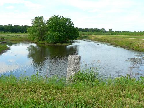 county monument de sussex kent border delaware boundary kentandsussex firststate