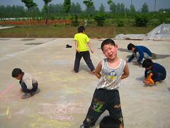 Chalk Art Shot