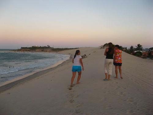 sunset sea beach sand dusk walk selma ceara 2007 anapaula iguape views100 dayanne