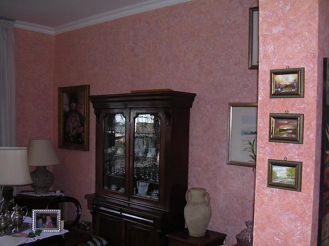 Terre fiorentine rosa flickr photo sharing - Colore esterno casa rosa antico ...