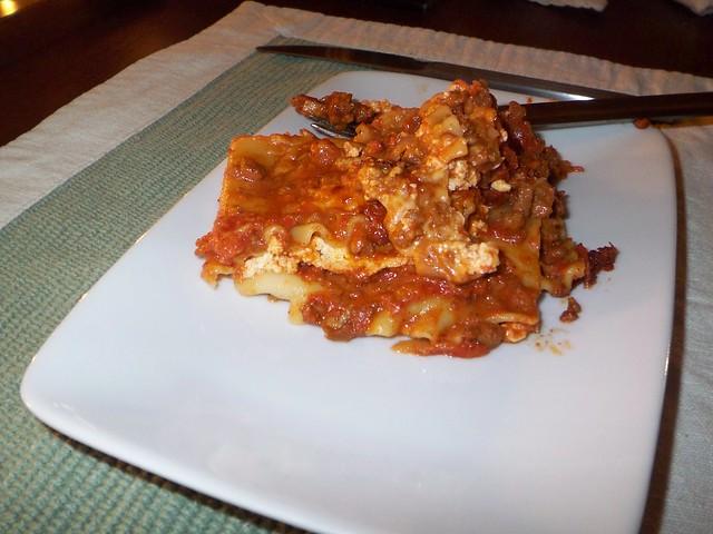 lasagna with marcella hazan bolognese sauce