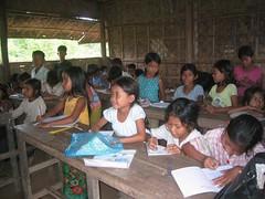 inside khmer literarcy school