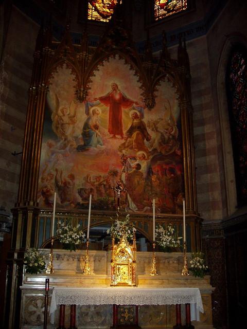 Sacro Cuore in Prati, altar