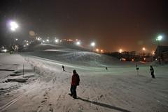 Night skiing, Niseko Grand Hirafu