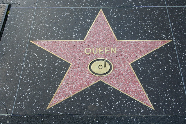 Hollywood Walk Of Fame Stars - Queen