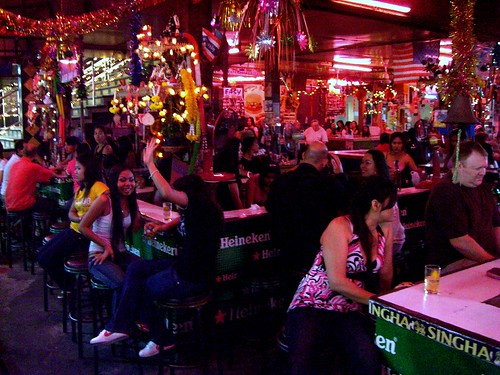 Drinking in Pattaya