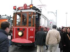 Old Taksim trams