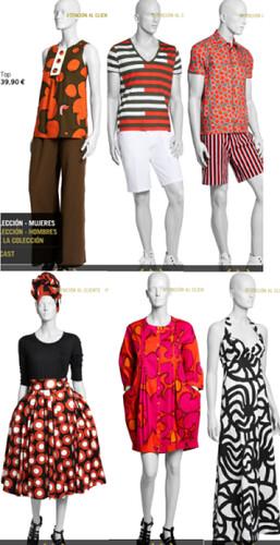 Los modelos de marimekko y hym