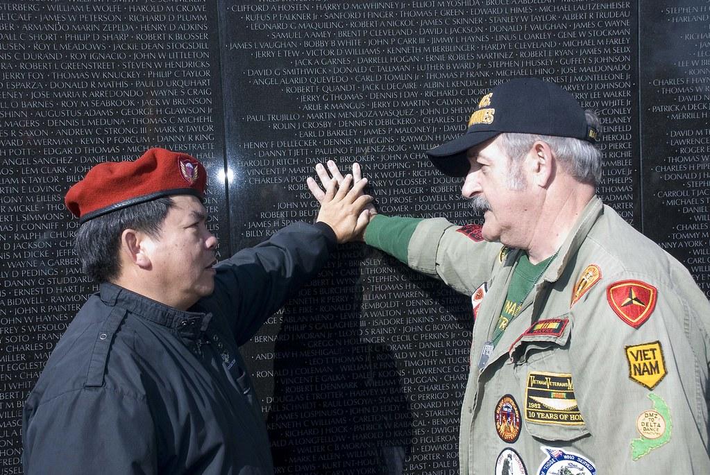 Washington, Vietnam Memorial, Veterans Meeting