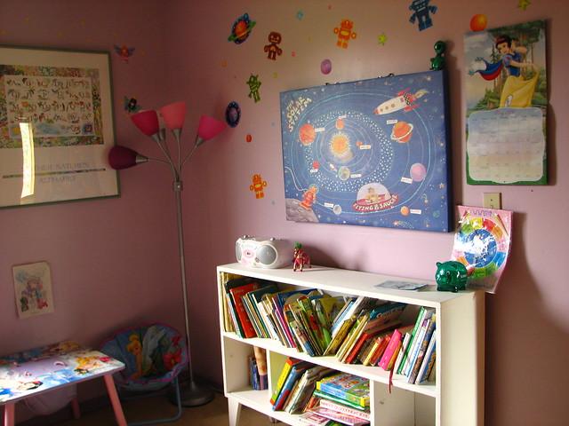 girls room, spring upgrade