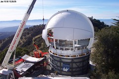 Lick Observatory's Automated Planet Finder Under Construction