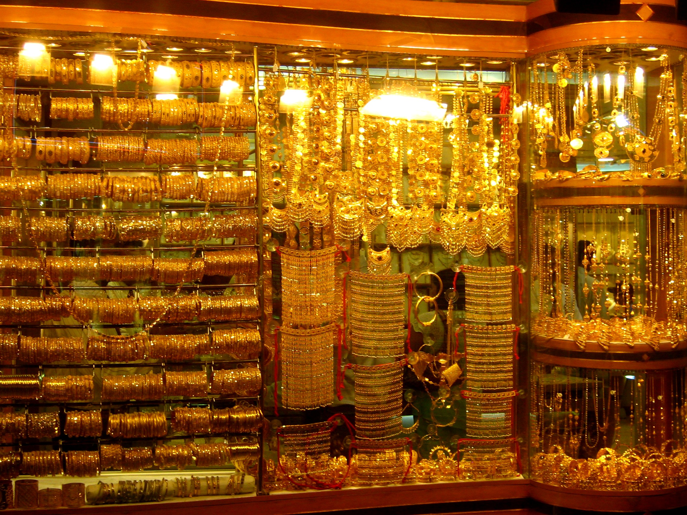 14 The gold souk