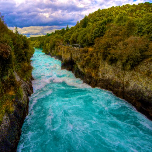 Waikato River | Taupo, North Island, New Zealand 2008 The ...