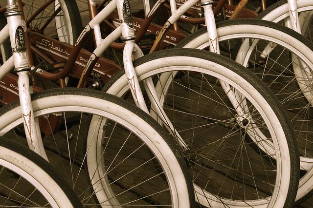 Schwinn Beach Cruisers  Rental Bikes On Santa Monica Pier  Flickr  Photo