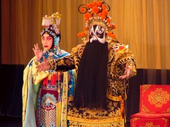 musical theatre(1.0), woman(1.0), peking opera(1.0), person(1.0),