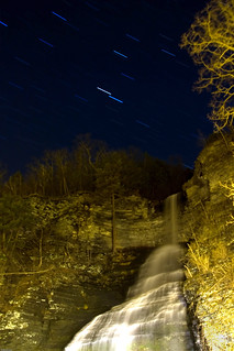 Star Trails over Waterfalls | by Kris Kumar