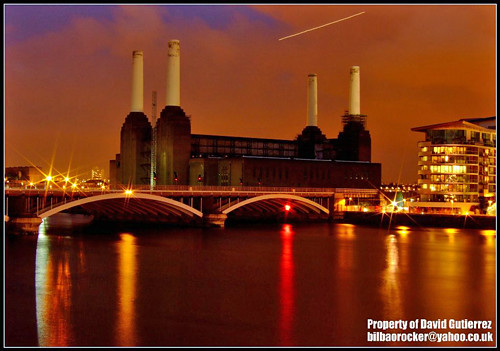 London Battersea Power Station at Night
