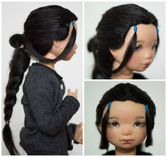 Katara Wig For The Little Inuit Kessie Like Me Is A Cosp Flickr