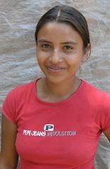 Pretty girl between Santa María y Chichicaste, El Paraíso, Honduras