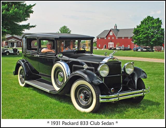 1931 Packard Club Sedan