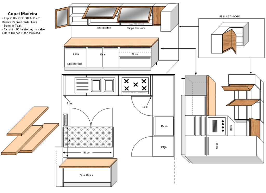 Progetti cucina soggiorno la soluzione che sembrata for Disegno del piano di soggiorno