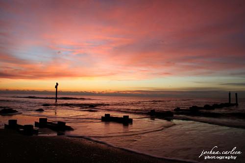 ocean beautiful sunrise wonderful silhouettes atlanticcity