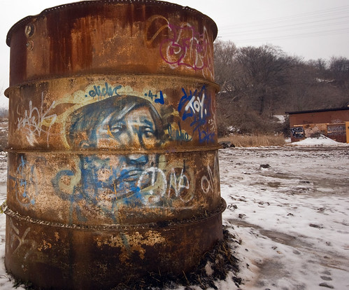 Tank Full of Graffiti
