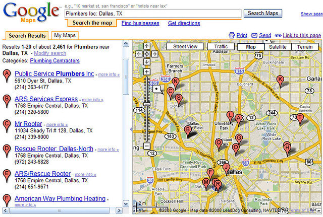 Chicago Plumbers In Google Maps  Flickr  Photo Sharing