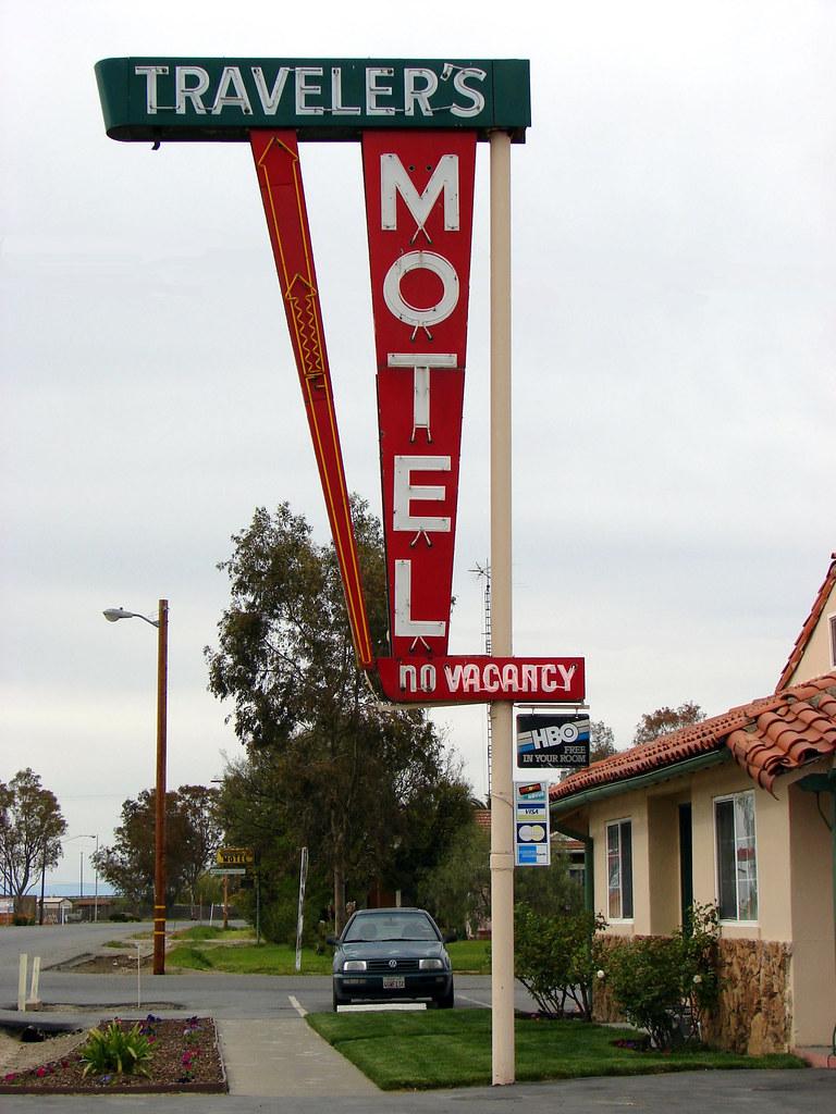 Traveler's Motel - 215 Seventh Street, Williams, California U.S.A. - March 29, 2008