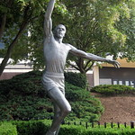 Philadelphia - The Spectrum: Julius Erving Statue