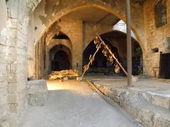 arch, ancient history, building, ruins, caravanserai, crypt,